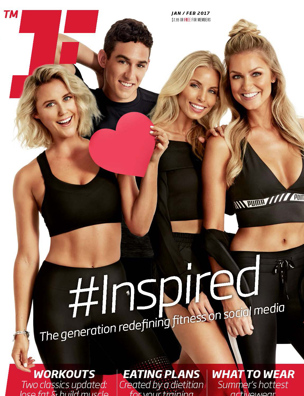 Fitness First Cover Shoot