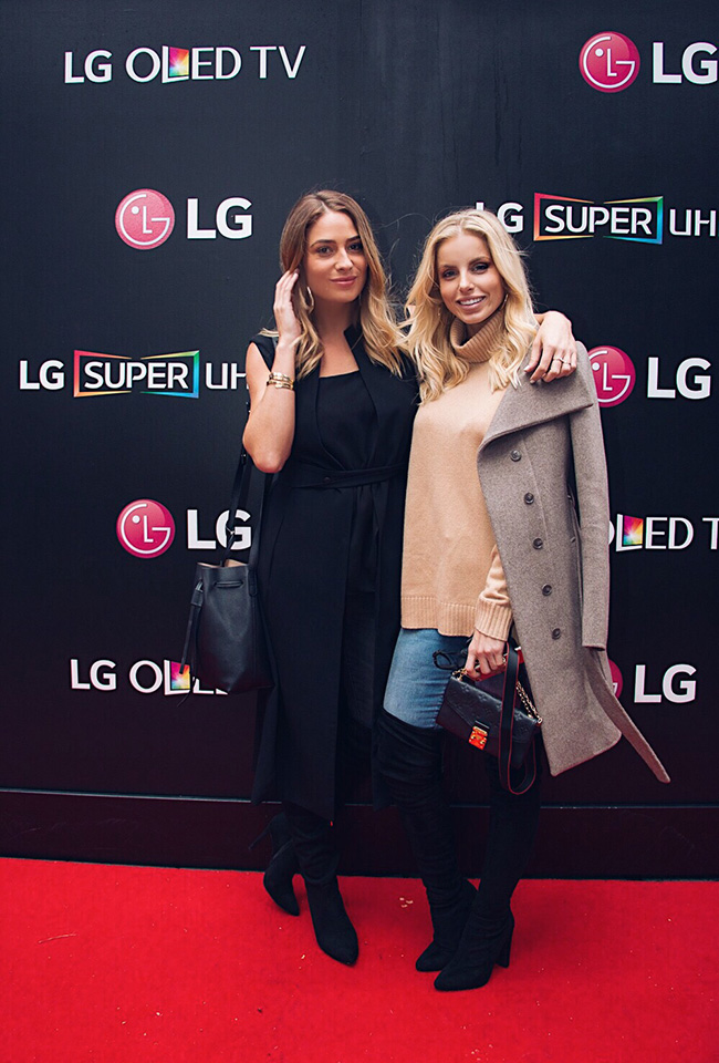 Lisa & I At LG Pop Up