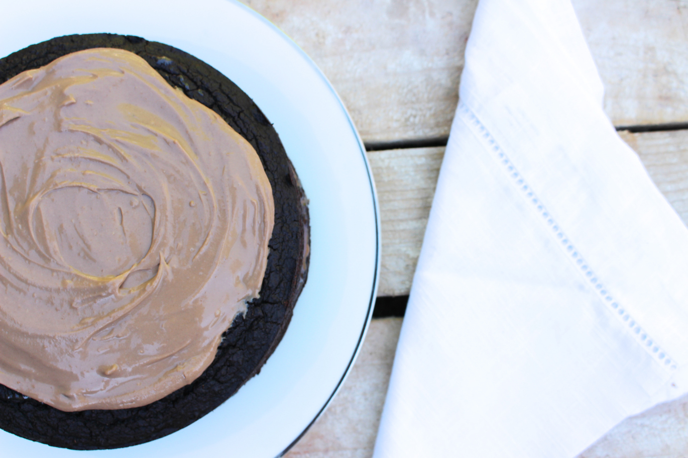 Quinoa Chocolate Mud Cake
