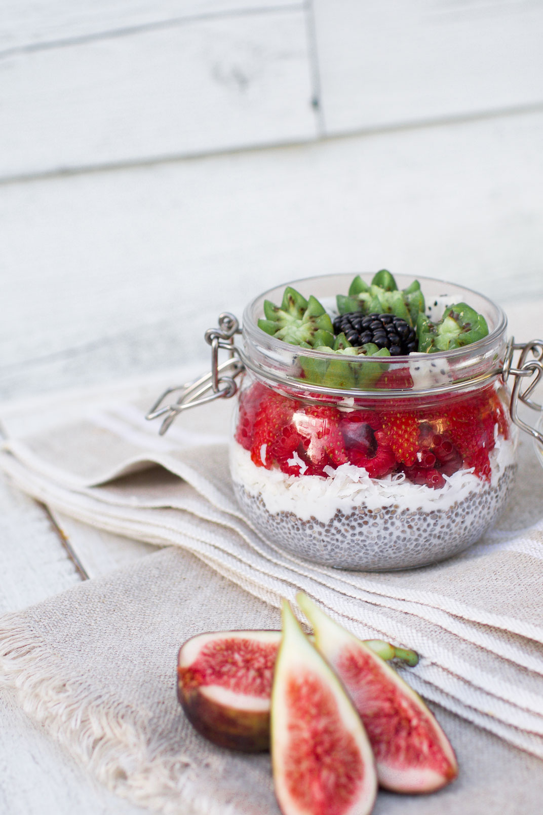 My Protein Coconut Chia Pudding Recipe