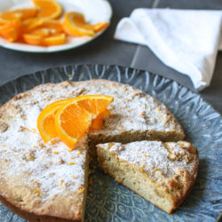 Spiced Orange & Almond Flourless Cake