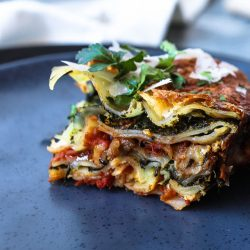 Eggplant Lasagna With Spinach